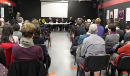Drawing on Life - panel discussion at Filmbase, Dublin