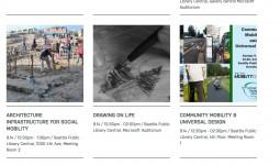 Website announcement - Seattle Public Library