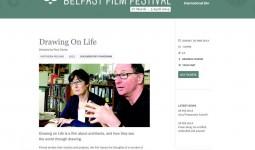 Website announcement - Belfast Film Festival